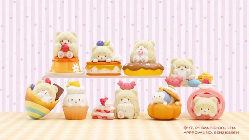 Marumofubiyori Blanket Bear Desserts Blind Box PRE-ORDER SHIPS OCT 2021