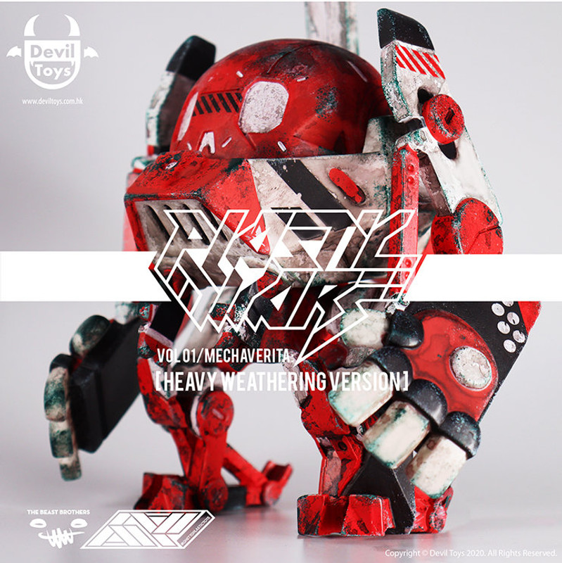 Mechaverita Heavy Weathering Version by The Beast Brothers x Ghetto Plastic PRE-ORDER SHIPS SEP 2021