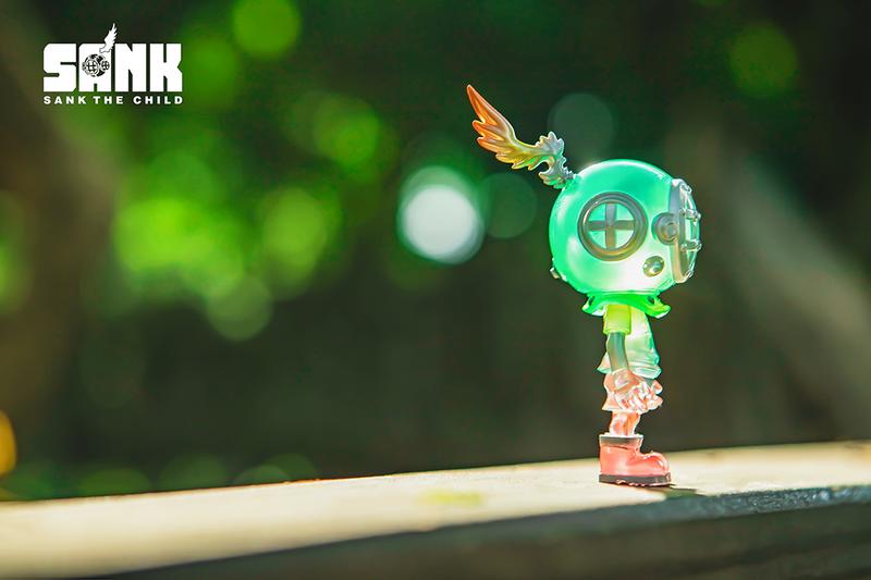 Little Sank Spectrum Peach Mint by Sank Toys PRE-ORDER SHIPS NOV 2021