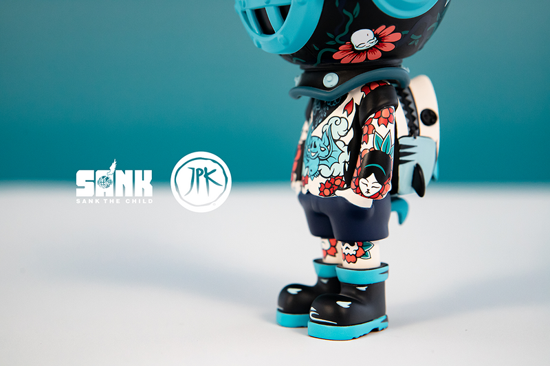 Backpack Boy Flowers by Sank Toys X Jon-Paul Kaiser PRE-ORDER SHIPS NOV 2021