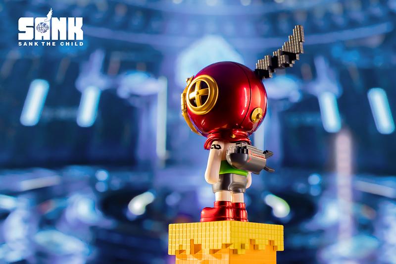 Sank Pixel Series Atom by Sank Toys PRE-ORDER SHIPS NOV 2021