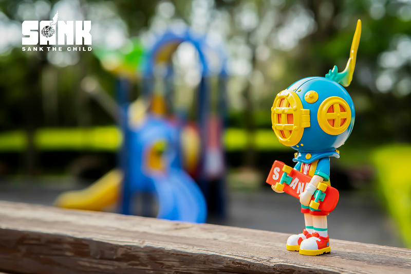 On the Way Skater Boy Wind by Sank Toys PRE-ORDER SHIPS OCT 2021