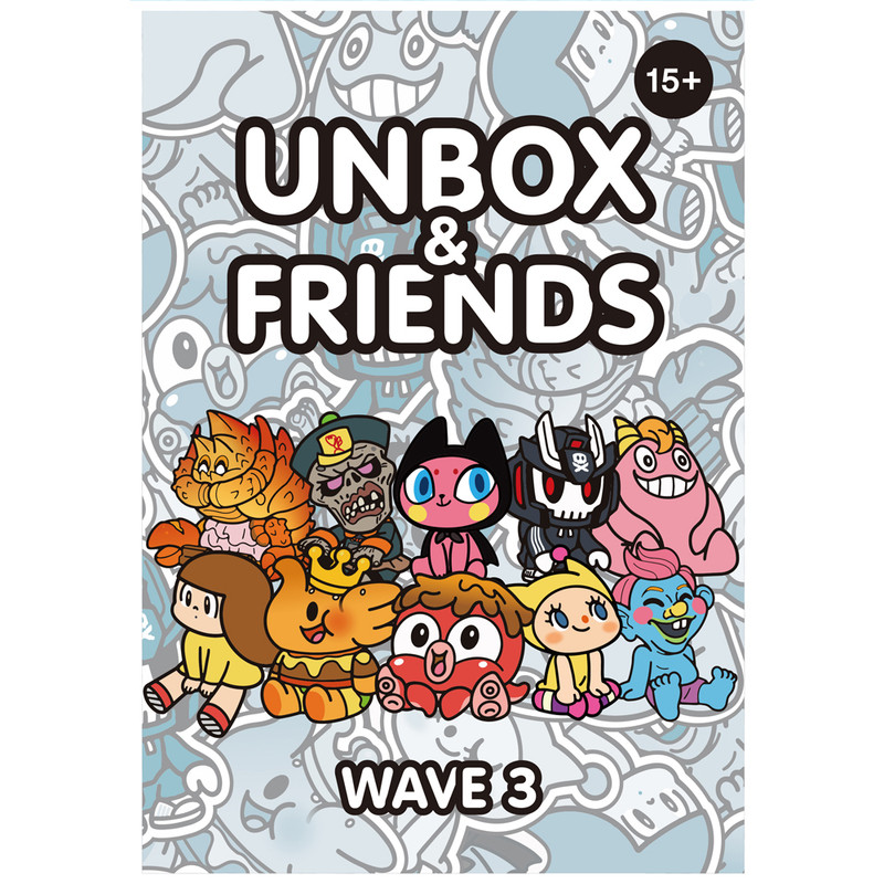 Unbox & Friends Mini Series 3 Blind Box PRE-ORDER SHIPS OCT 2021
