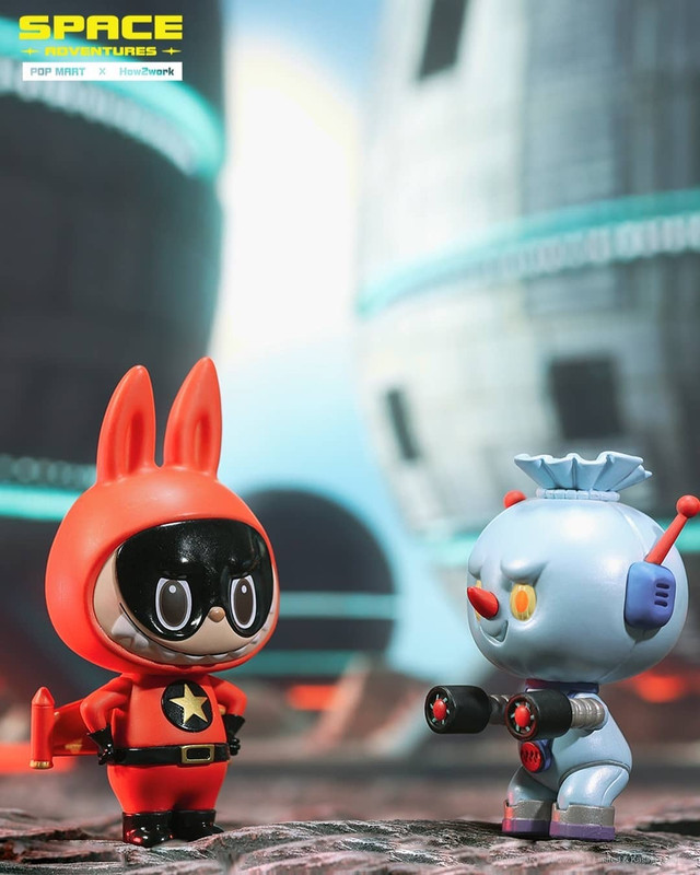 The Monsters Space Adventures Labubu Mini Series Blind Box by Kasing Lung