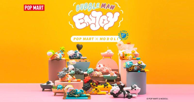 Bubble Man Enjoy Mini Series Blind Box by Modoli PRE-ORDER SHIPS OCT 2021