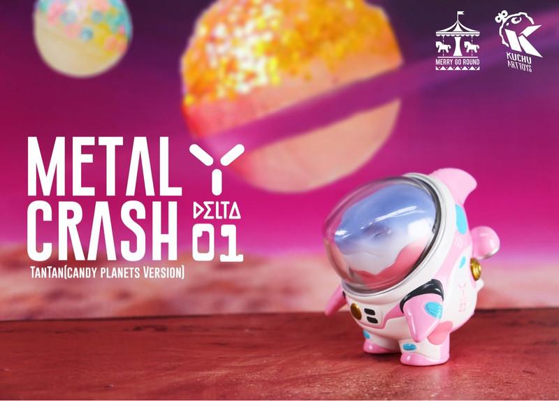 Space Pilot TAN TAN Metal Crash Candy Planets by Kuchu PRE-ORDER SHIPS OCT 2021