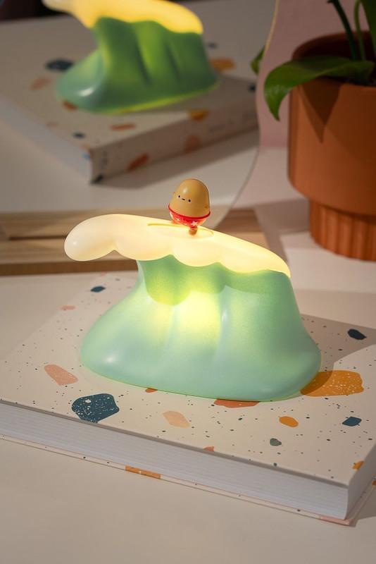 Surfing Tayto Potato Light