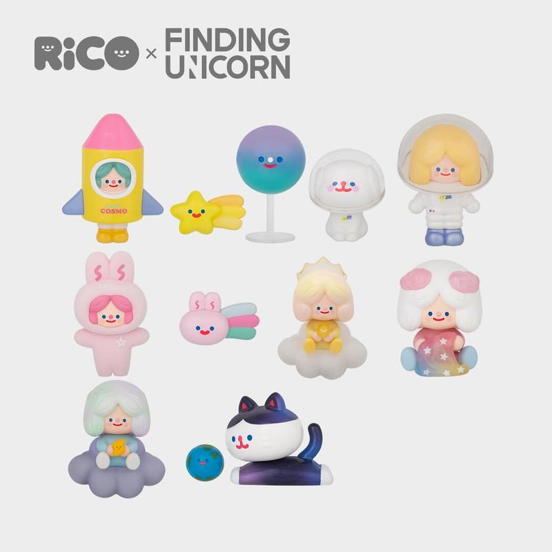 RiCO Happy Cosmo Series Blind Box by RiCO PRE-ORDER SHIPS NOV 2021
