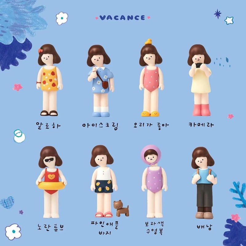 Vacance Kwoni Blind Box by Raccoon Factory