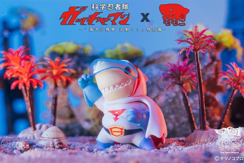 Science Ninja Team Gatchaman X Momoco Gacha Set of 5