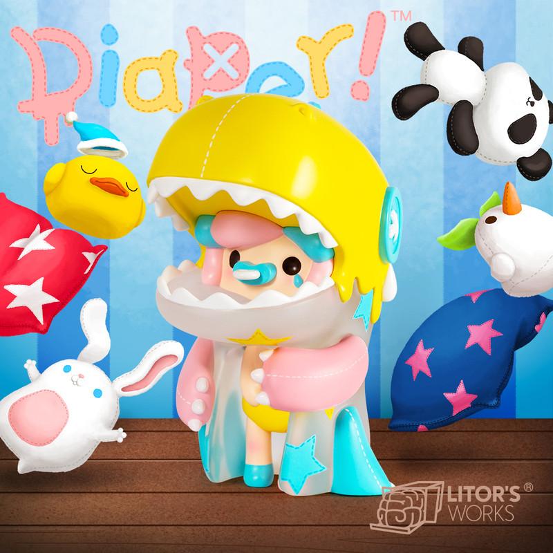 Umasou! Diaper! Rag Doll PRE-ORDER SHIPS NOV 2021