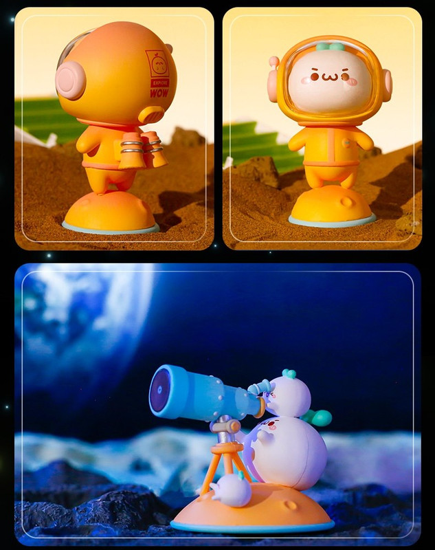 Budding Pop Space Travel Blind Box PRE-ORDER SHIPS OCT 2021