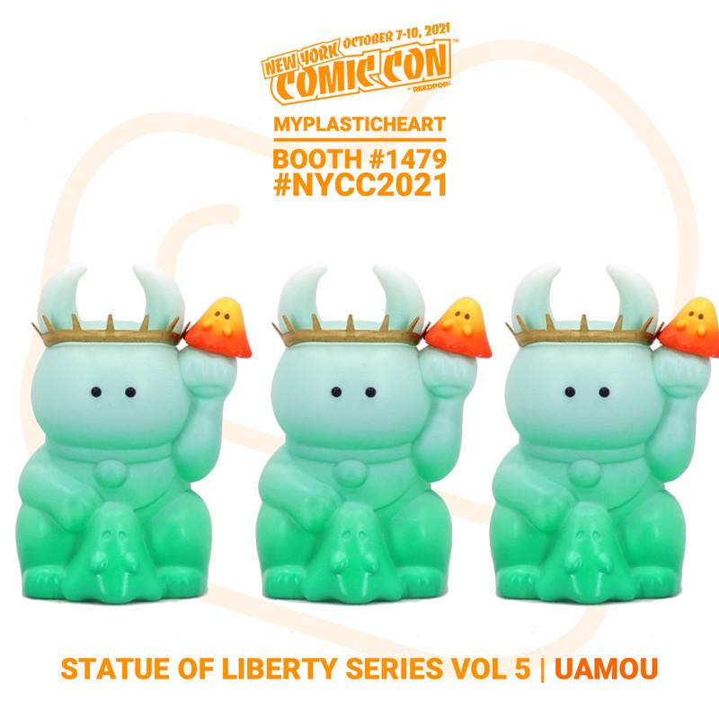 NYCC 2021 UAMOU Statue of Liberty Vol. 5