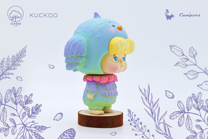 Kuckoo Blue Bird by The Campers from Vapour Park PRE-ORDER SHIPS OCT 2021