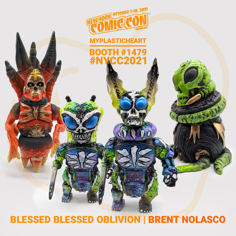 NYCC 2021 Blessed Blessed Oblivion by Brent Nolasco