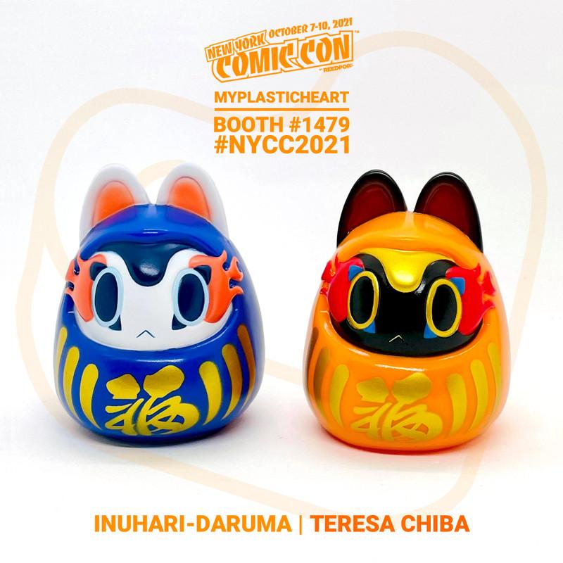 NYCC 2021 Inuhari-Daruma by Teresa Chiba
