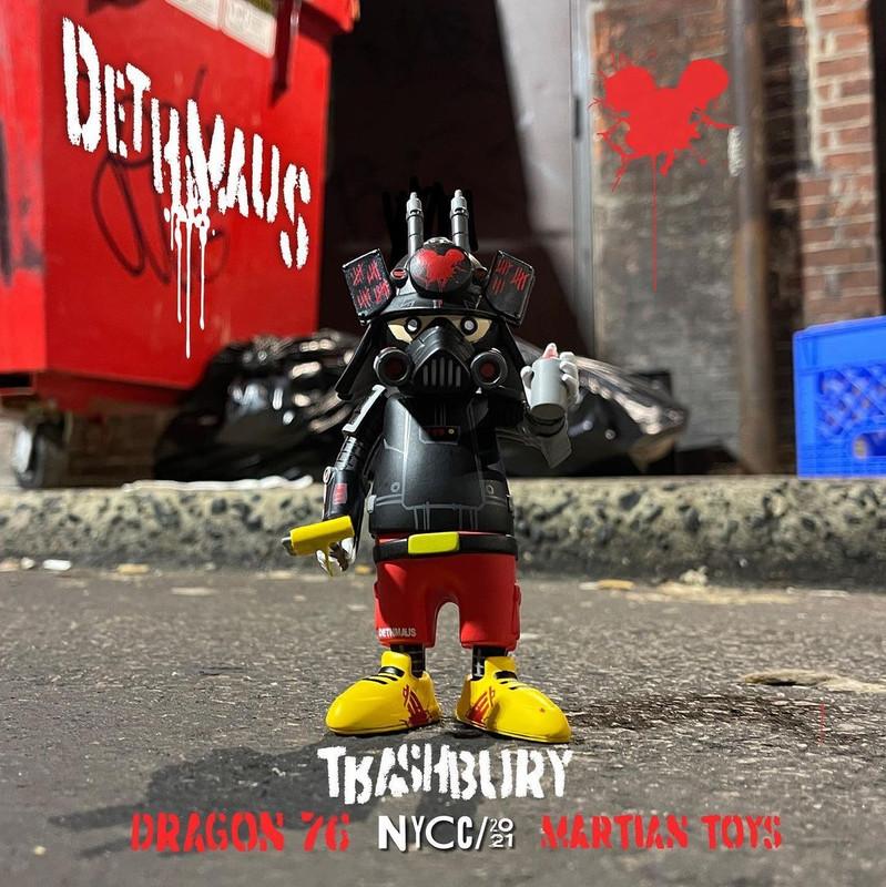 DR76 Dethmaus Ouroboros by Dragon76 X Trashbury
