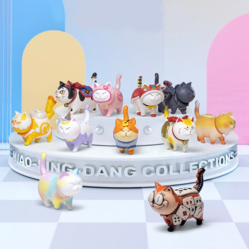 Cat Bell Artist Collection Blind Box PRE-ORDER SHIPS DEC 2021