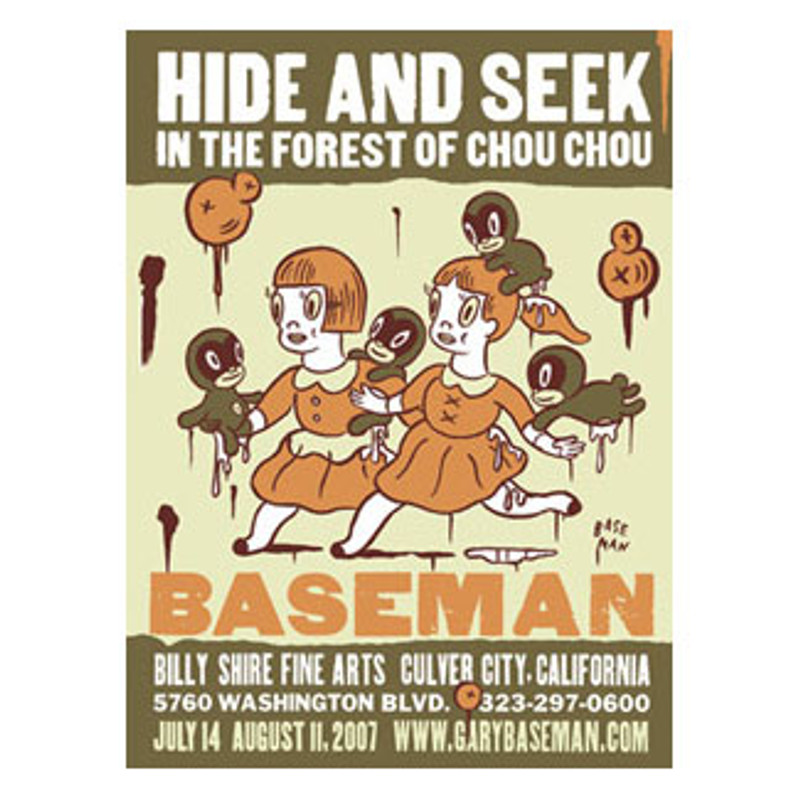 Hide and Seek Poster by Gary Baseman