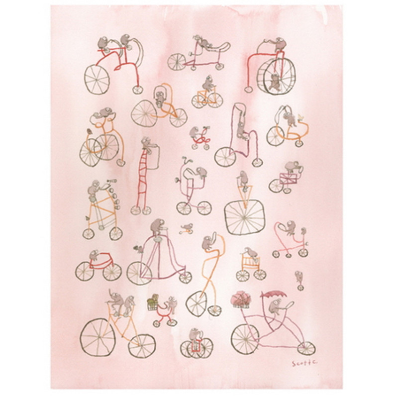 Little Dudes on Bikes