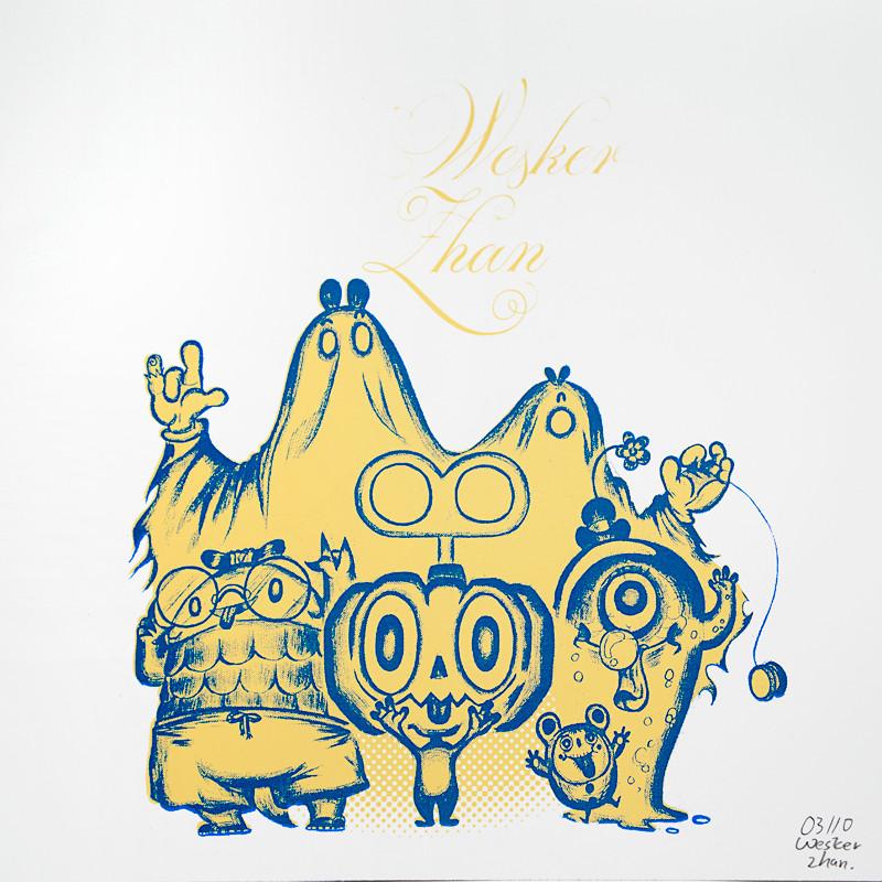 Wesker Zhan Print 1 : Yellow
