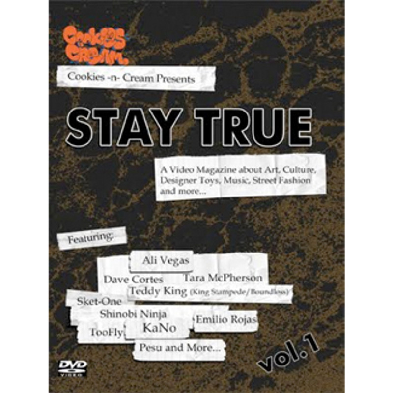 Cookies -n- Cream presents : Stay True DVD Vol. 1