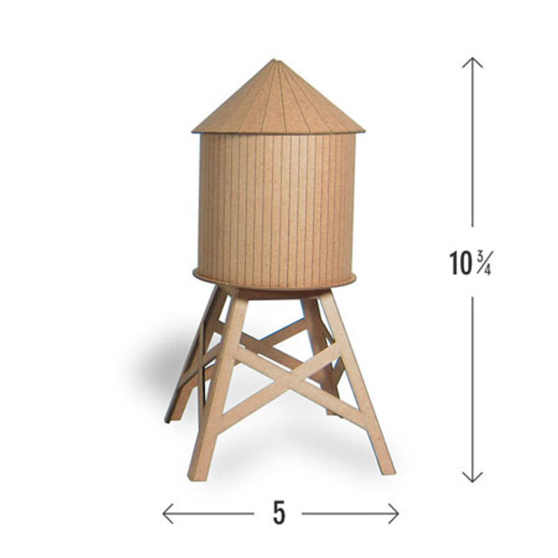 Model Water Tower Kit: Medium