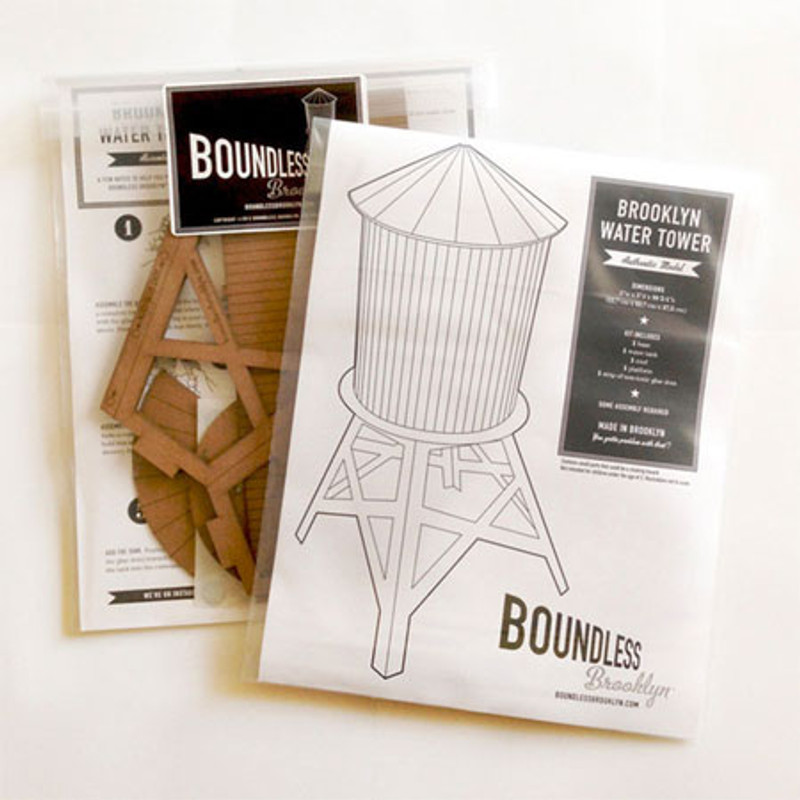 Model Water Tower Kit: Large