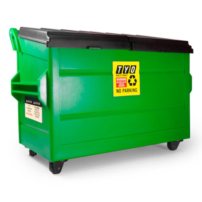 DIY Desktop Dumpster Series 3 : Green