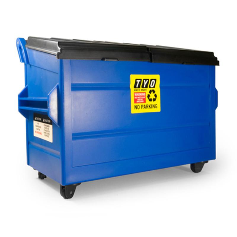DIY Desktop Dumpster Series 3 : Blue