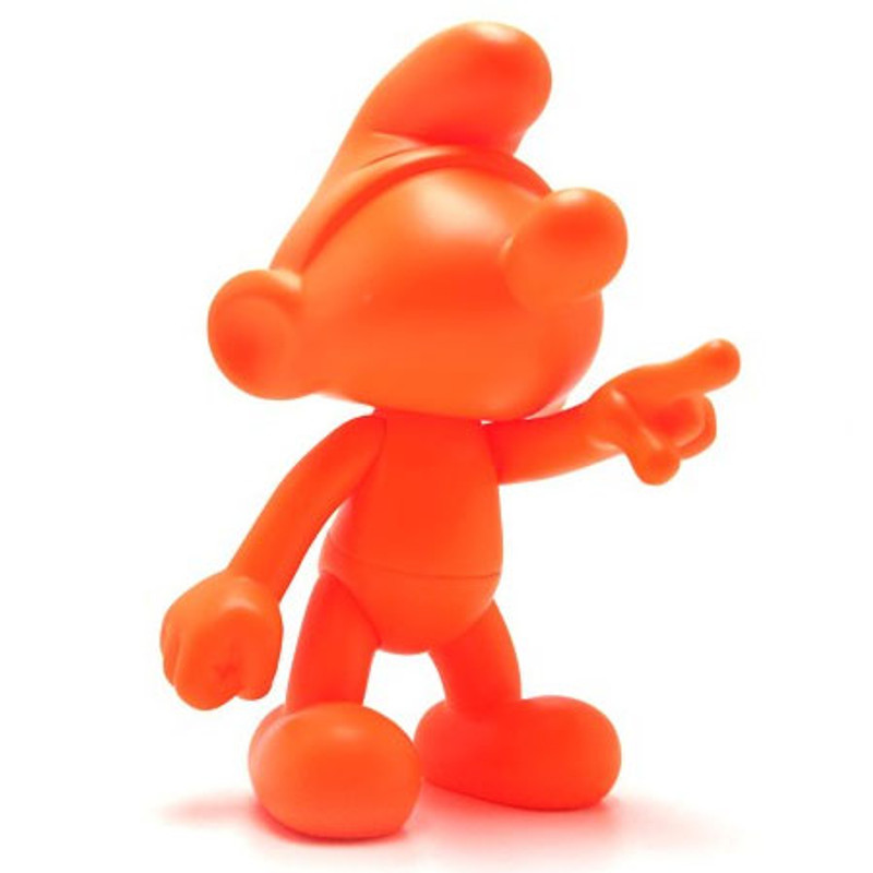 Smurf : DIY Orange