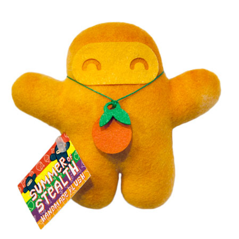 Summer of Stealth Plush Ninja : Orange