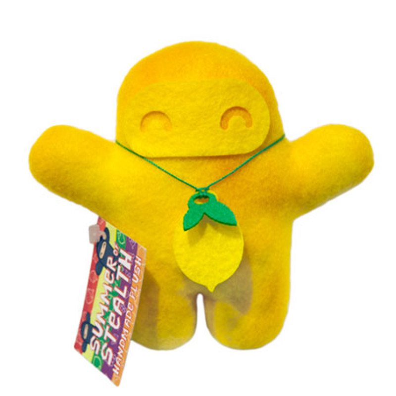 Summer of Stealth Plush Ninja : Lemon