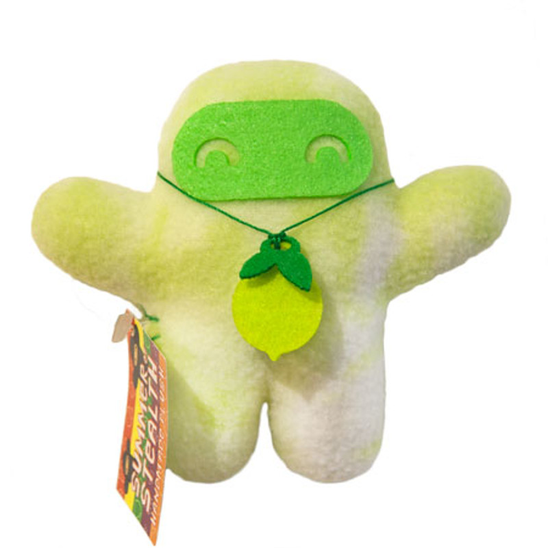 Summer of Stealth Plush Ninja : Lime