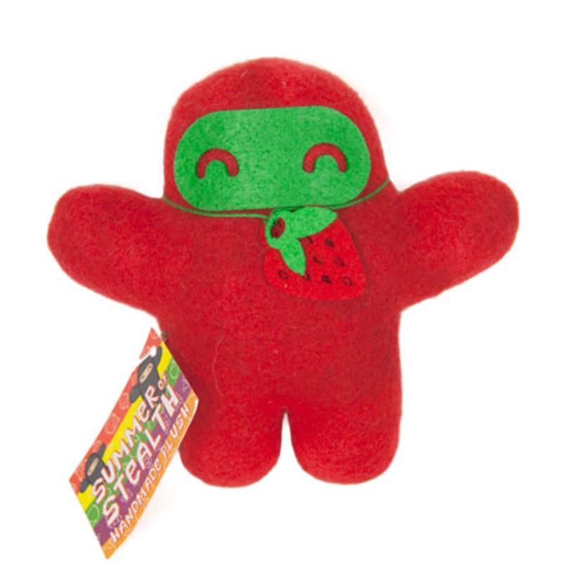 Summer of Stealth Plush Ninja : Strawberry