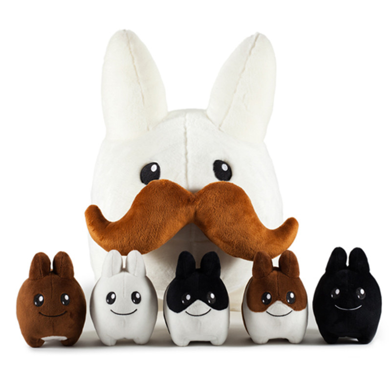 Stache Labbit 24 inch Plush w 5 Littons