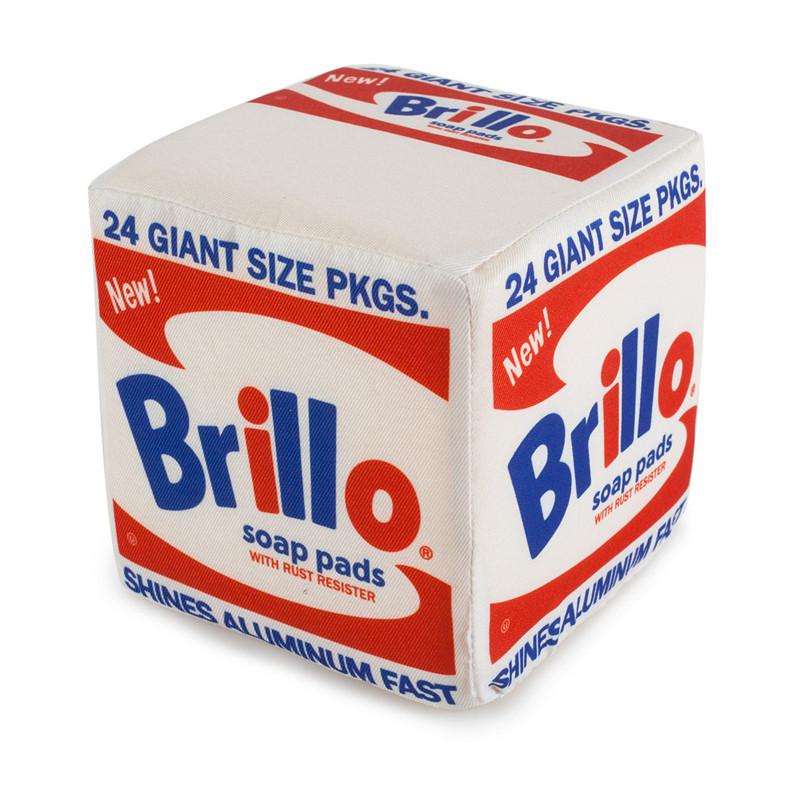 Andy Warhol Medium Plush : Brillo Box