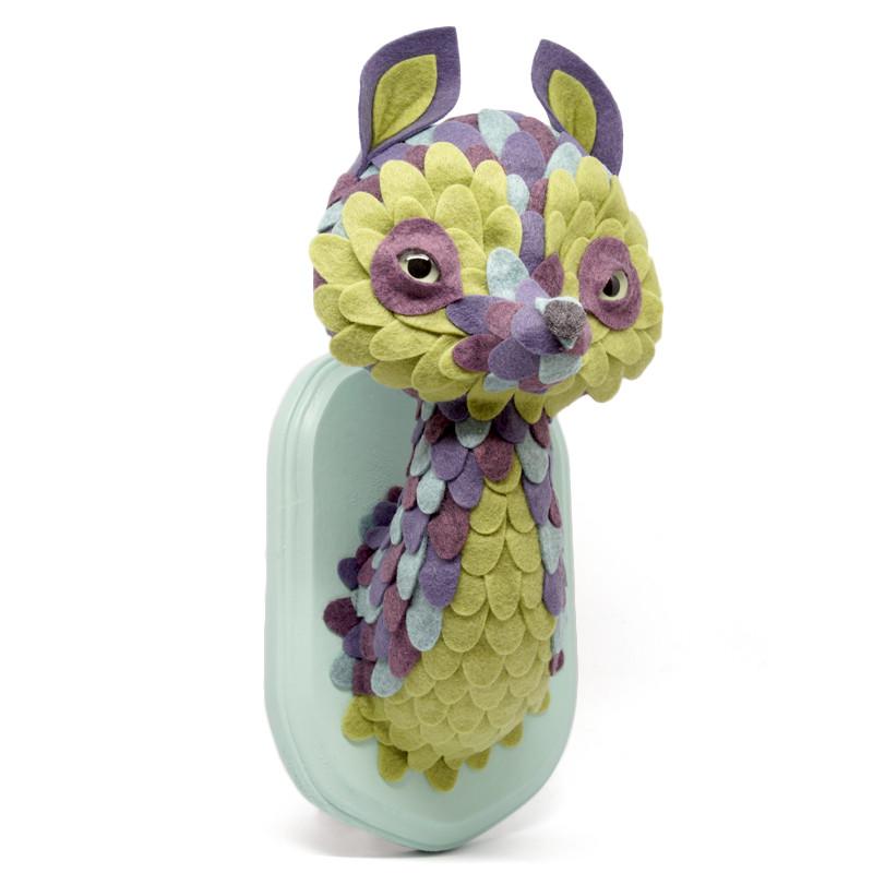Medium Creature Sweasel Kit : Green and Purple