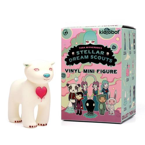 Kidrobot Stellar Dream Scouts Vinyl Mini Series Blue Mystery Mountain Figure NEW