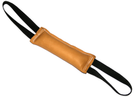 "Tug Toy 2"" x 10"" Double Handle Premium Leather Tug"