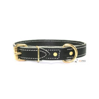 Premium Leather Collar 1""
