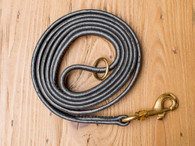 "Premium Leather Leash 5/8"" General Duty Leash"