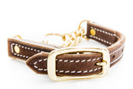 Martingale Collar Soft Hide Leather