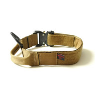 MaxTac Military Dog Collar Desert Tan