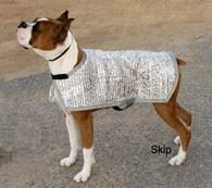 Silver Shade Mesh K-9 Cooler Coat