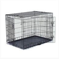 "VEBO 48"" Collapsible Metal Wire Dog Crate (XXL)"