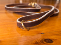 Soft Hide Leather Leash 3/4""