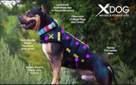 Dog Weight Vest by XDOG - Version 1