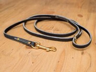 Premium Leather Leash 3/8""
