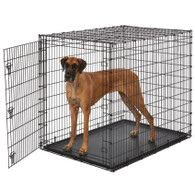 "Midwest Solutions Wire Dog Crate 54"" Giant Crate"